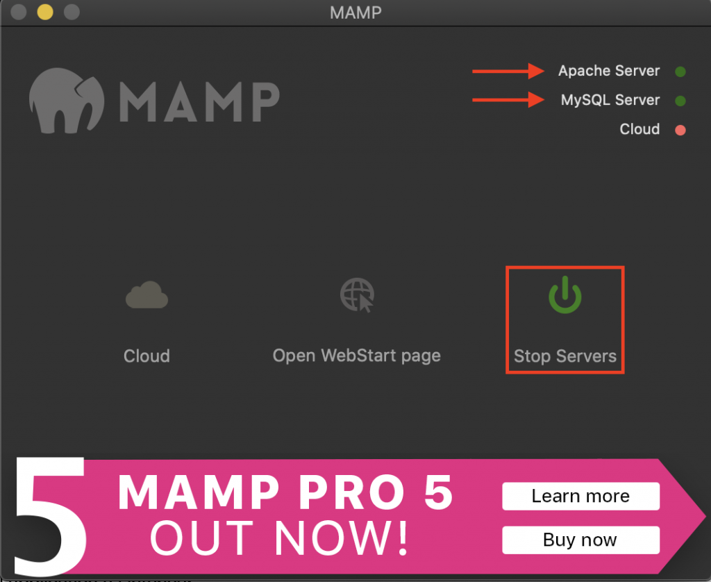 MAMP creer un site en local